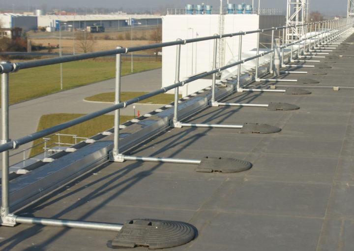 KeeGuard rooftop railings
